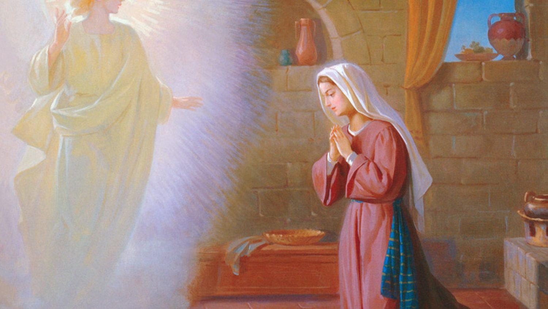 Maryja-Dziewica-Zwiastowanie
