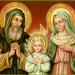 26 июля. Святые Иоаким и Анна, родители Пресвятой Девы Марии. Память