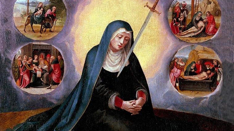 Дева Мария Скорбящая