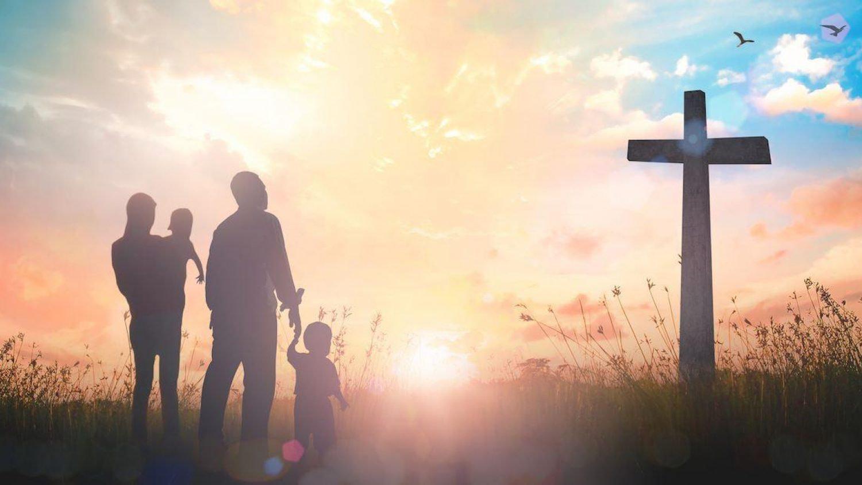family-at-cross