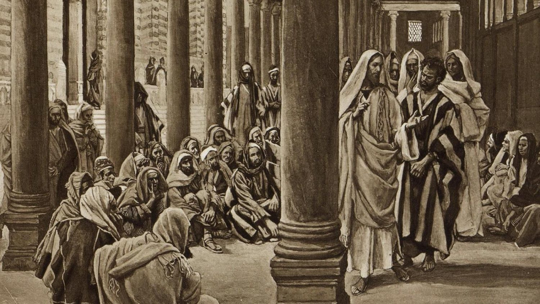 Христос в храме
