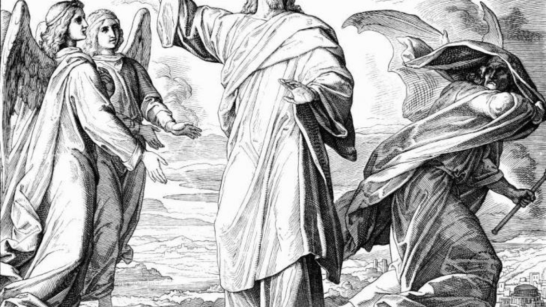 Искушение Иисуса - Юлиус фон Карольсфельд