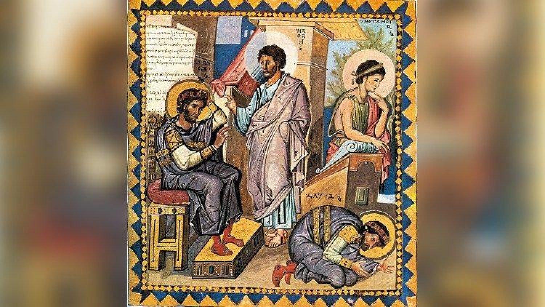 Нафан упрекает царя Давида