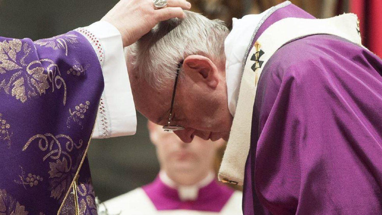 Papiez Franciszek - popielec