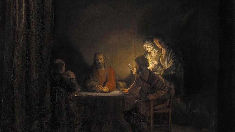 Рембрант - Ужин в Эммаусе