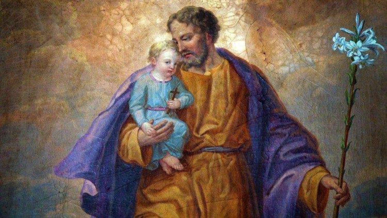 Святой Иосиф Обручник с Младенцем Иисусом