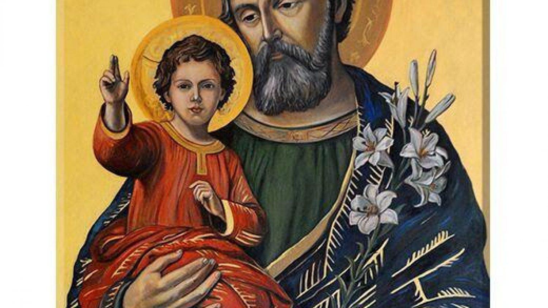 sw. Jozef - ikona