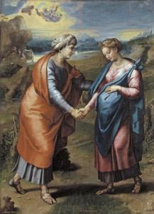31 мая. Посещение Пресвятой Девой Марией Елизаветы. Праздник 4