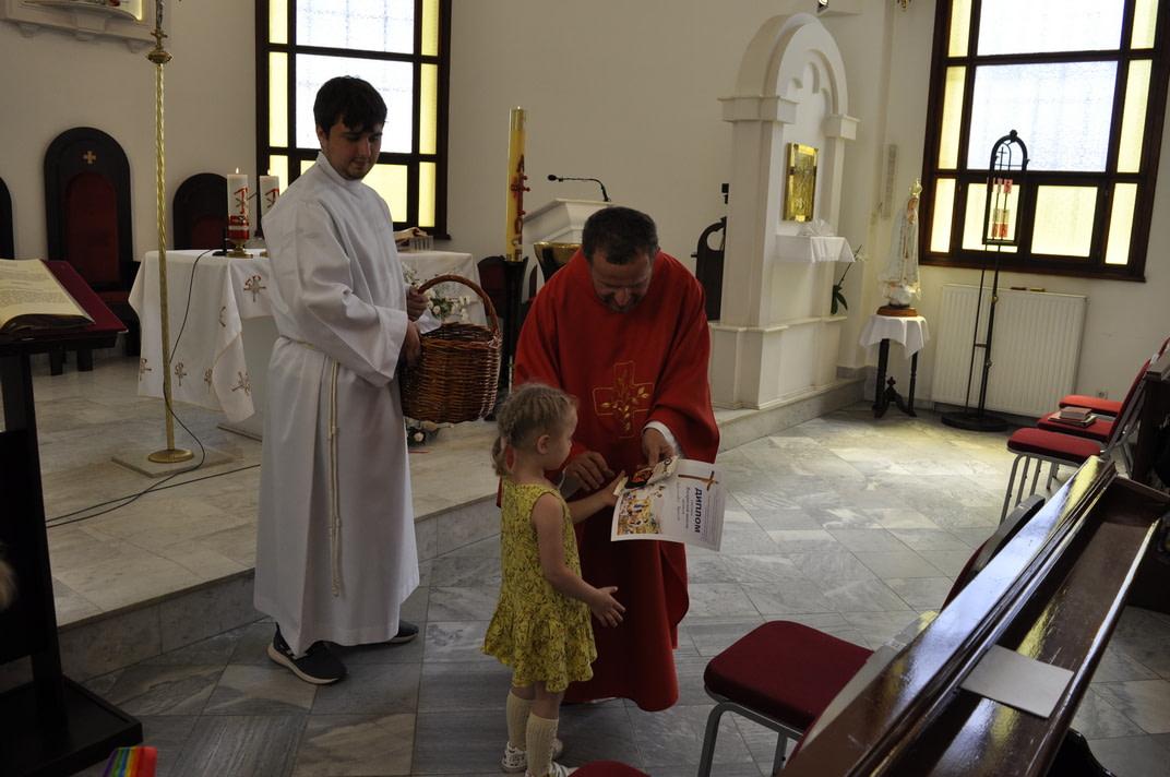 Праздник Пятидесятницы и окончание Воскресной школы 2020-2021 29