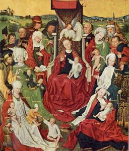 26 июля. Святые Иоаким и Анна, родители Пресвятой Девы Марии. Память 5