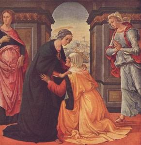 31 мая. Посещение Пресвятой Девой Марией Елизаветы. Праздник 7