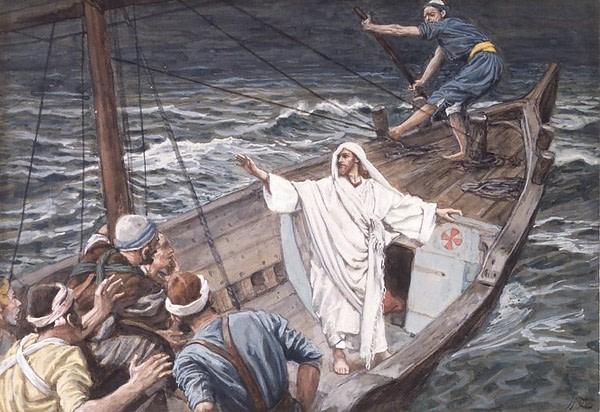 Jezus uspokaja burze