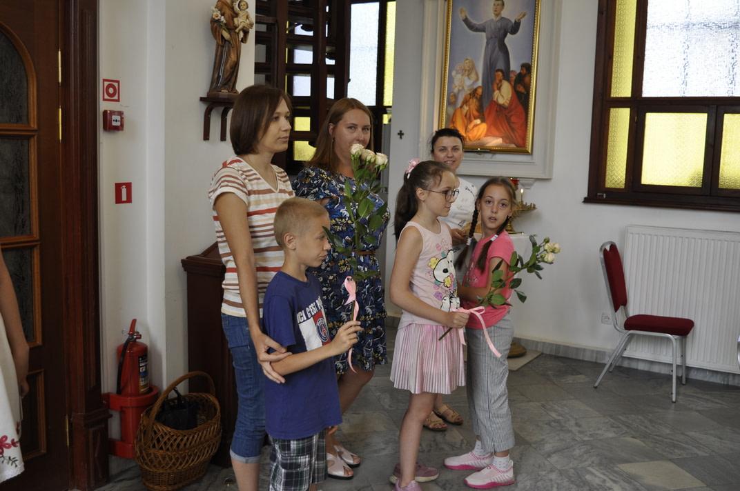 Торжество Пресвятой Троицы и приветствие сестёр Марты и Эдиты 1