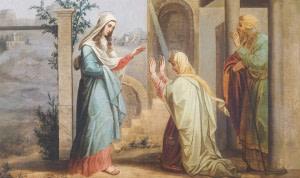 31 мая. Посещение Пресвятой Девой Марией Елизаветы. Праздник 3