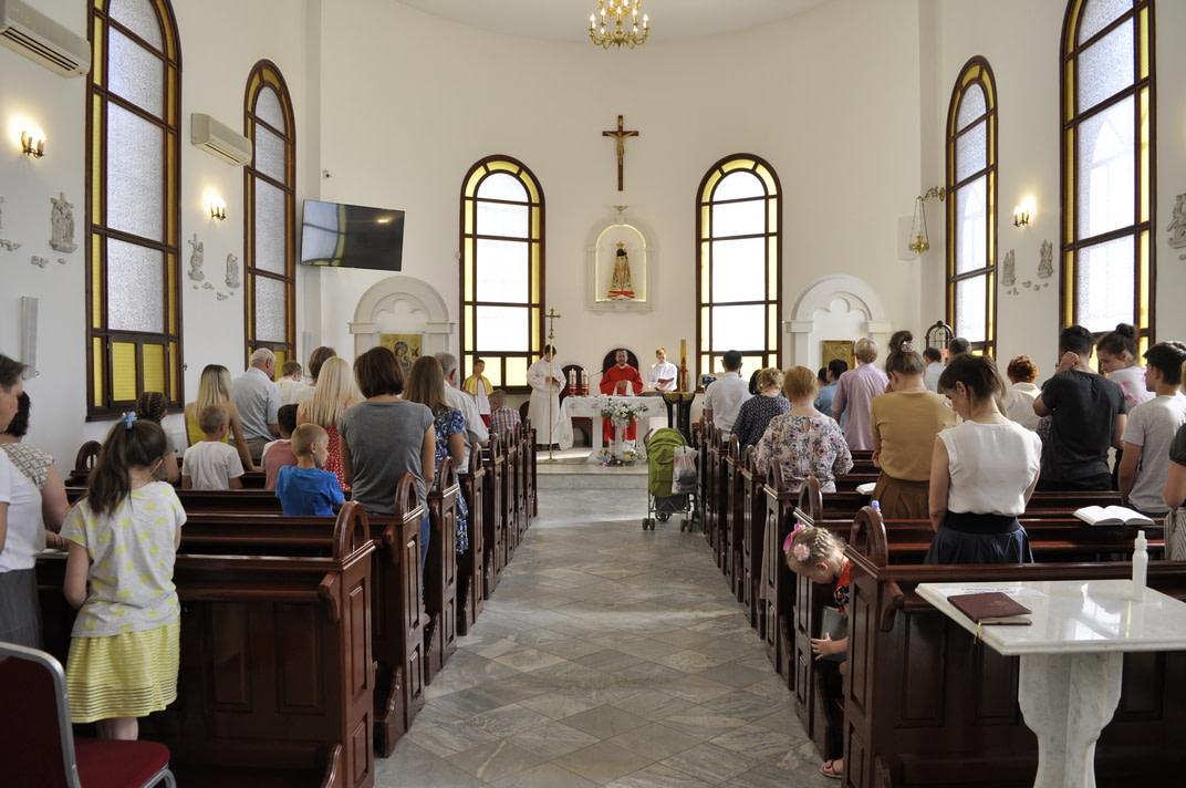 Праздник Пятидесятницы и окончание Воскресной школы 2020-2021 2