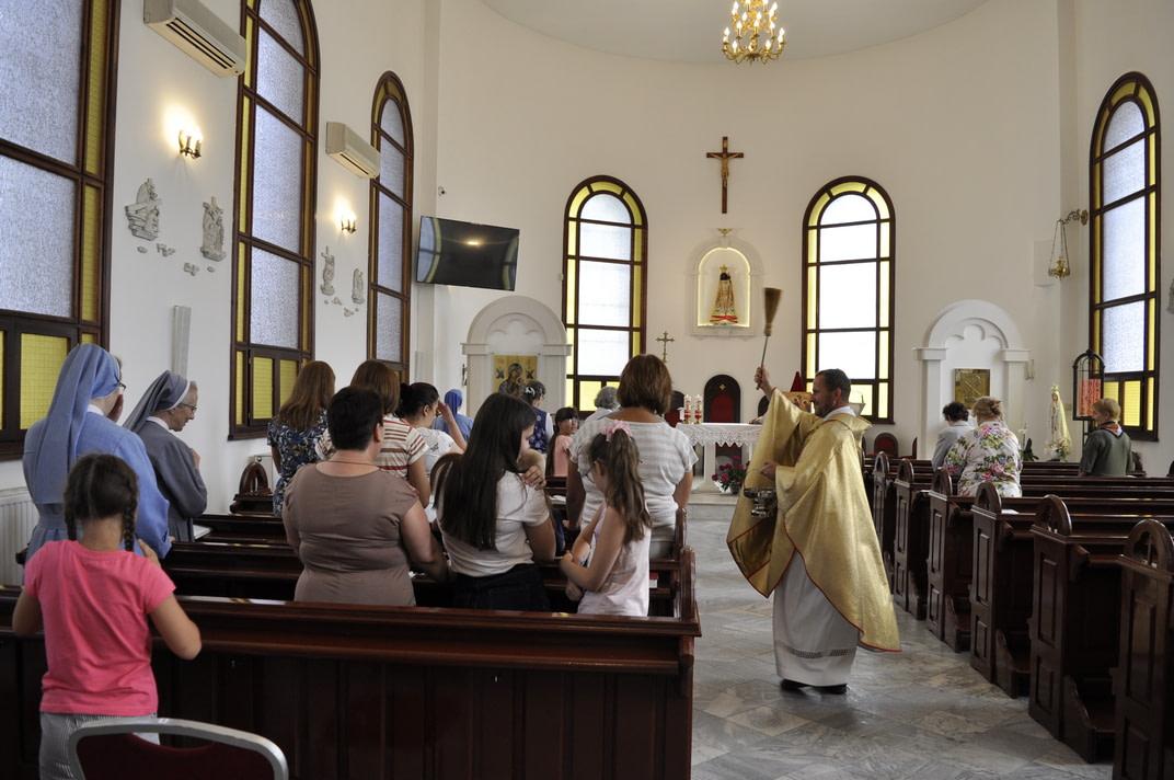 Торжество Пресвятой Троицы и приветствие сестёр Марты и Эдиты 10