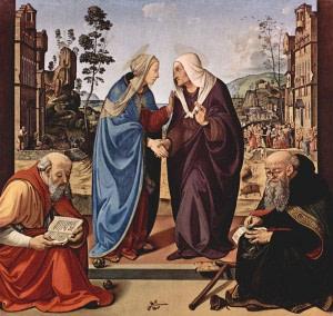 31 мая. Посещение Пресвятой Девой Марией Елизаветы. Праздник 1