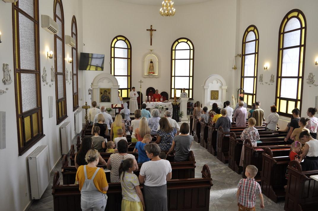 Праздник Пятидесятницы и окончание Воскресной школы 2020-2021 13