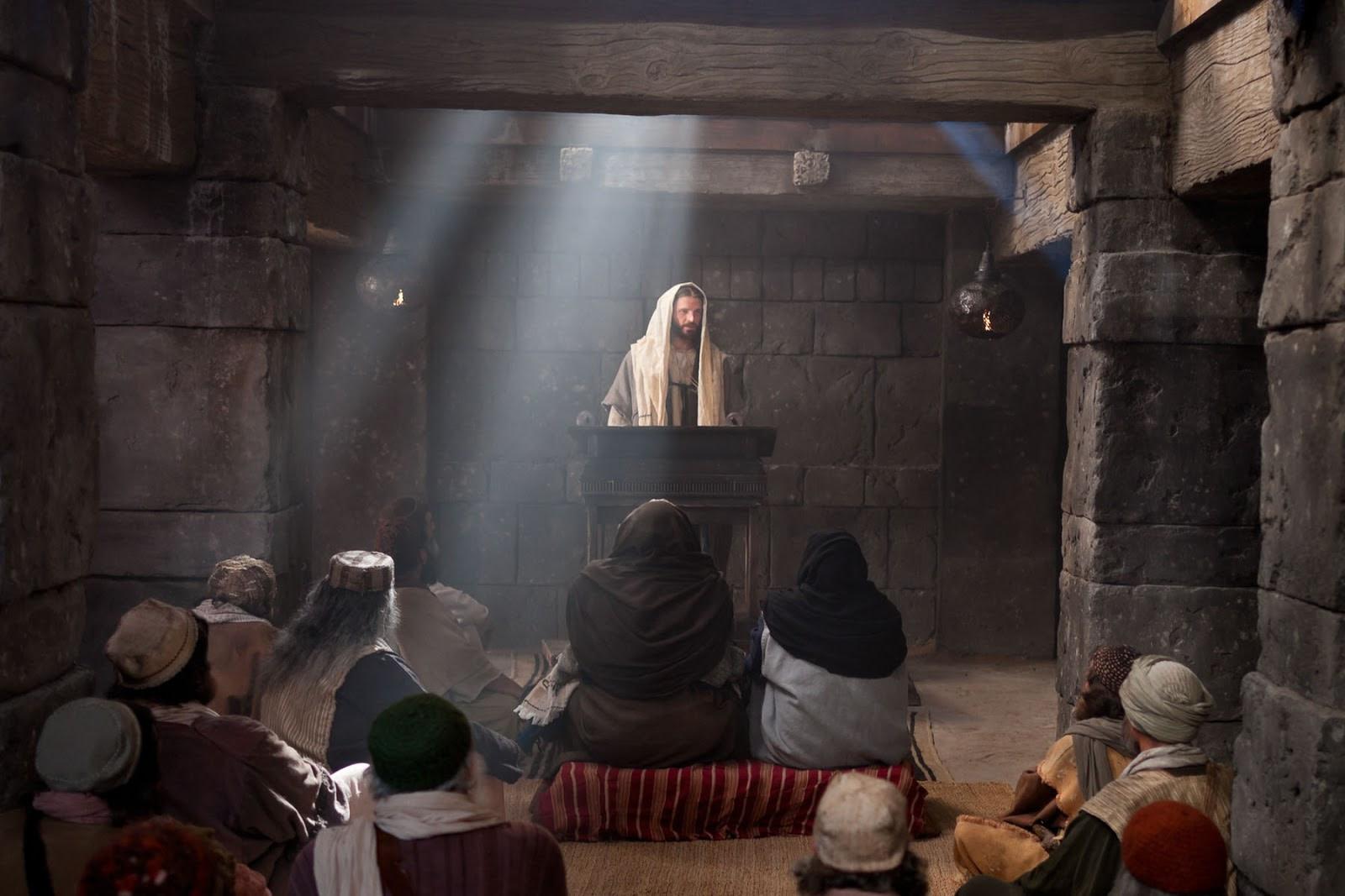 ИИСУС В СИНАГОГЕ 1