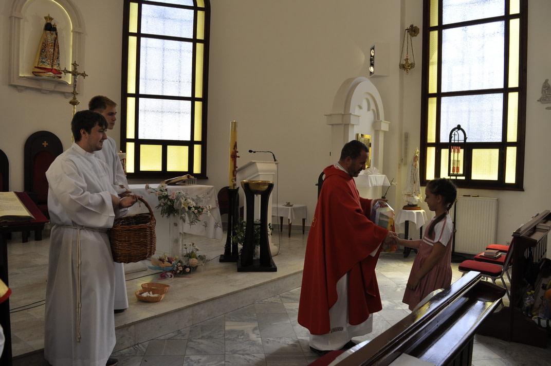Праздник Пятидесятницы и окончание Воскресной школы 2020-2021 26