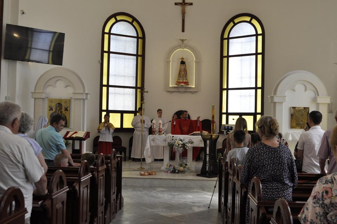 Праздник Пятидесятницы и окончание Воскресной школы 2020-2021 15