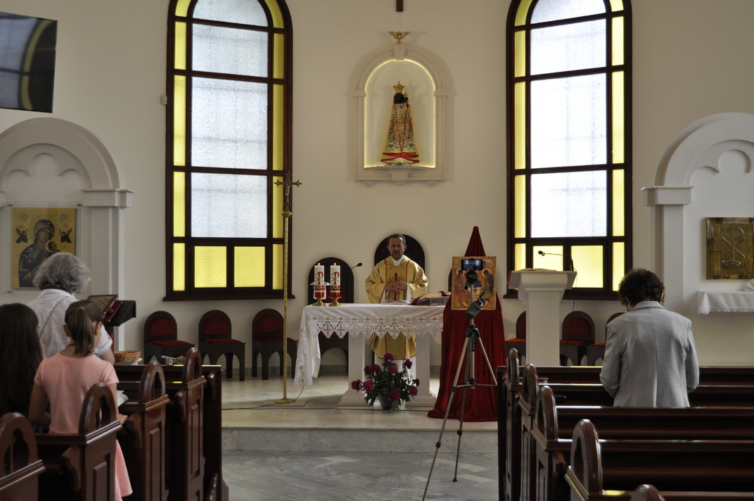 Торжество Пресвятой Троицы и приветствие сестёр Марты и Эдиты 2